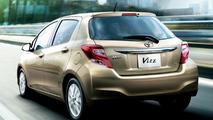Toyota Vitz facelift (JDM-spec)
