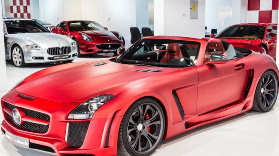 Red FAB Design Jetstream SLS AMG Roadster on sale for $271,000
