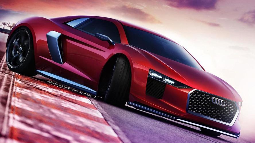 2015 Audi R8 gets rendered