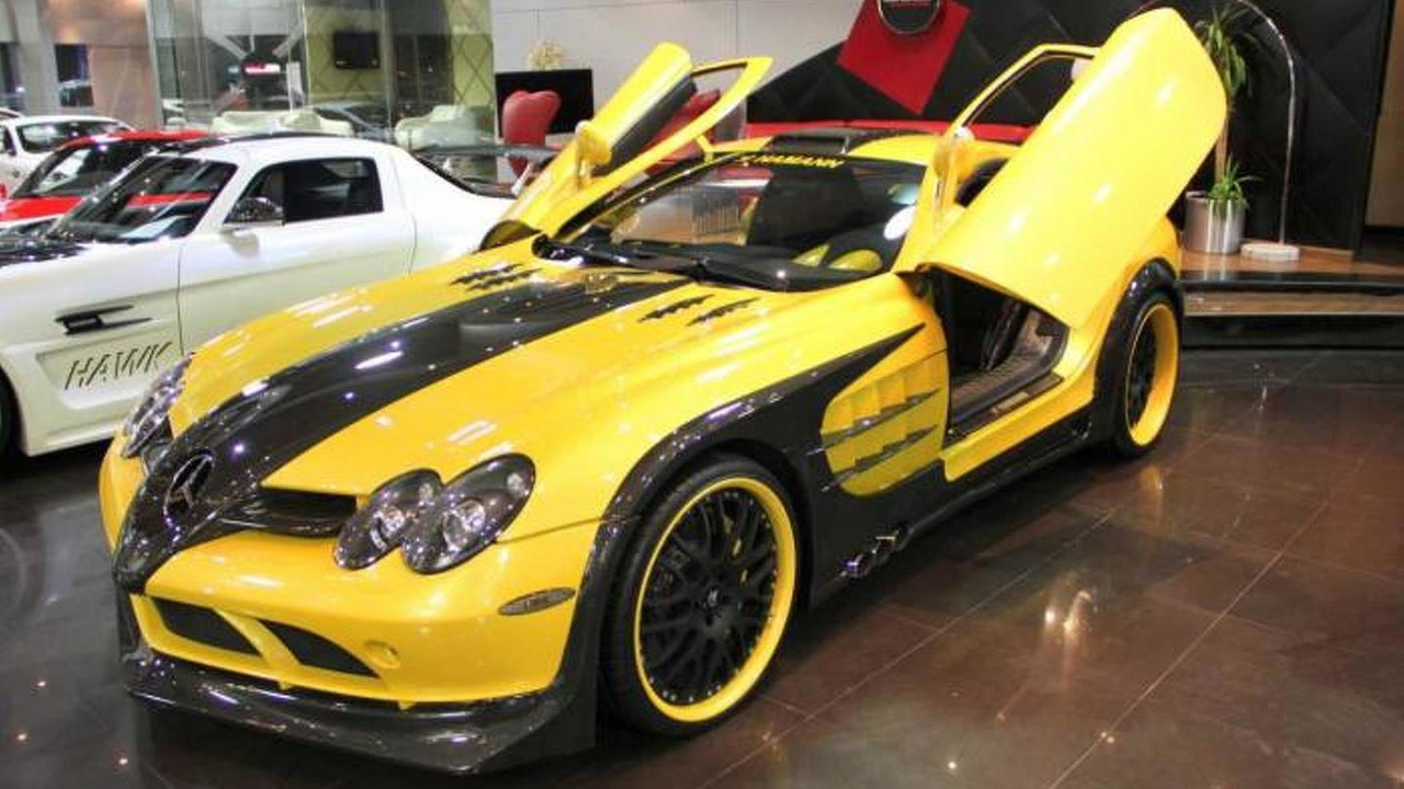 Mercedes Benz Slr Hamann Volcano On Sale In Dubai