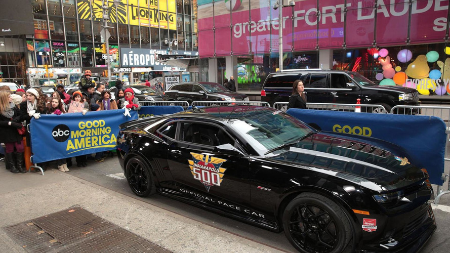 Chevrolet Camaro Z/28 Indy 500 Pace Car unveiled [video]