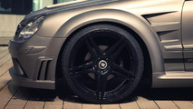 Mercedes CLK with Prior Design Black Series body kit 13.2.2013