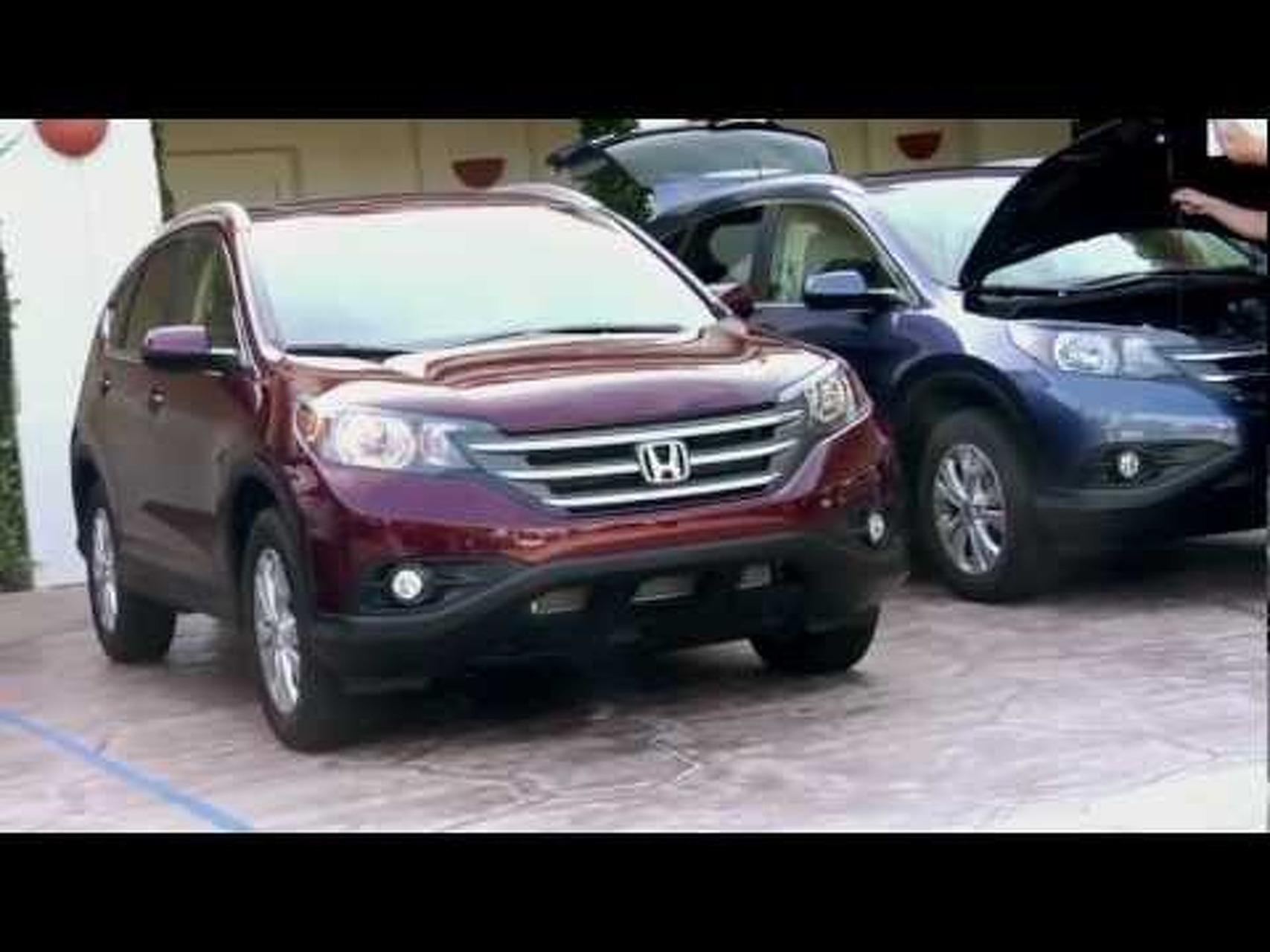 2012 Honda CR-V Redesigned Bloggers Drive