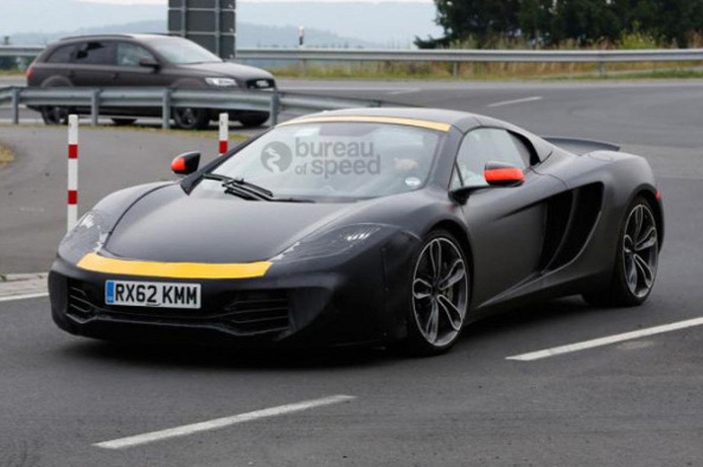Spy Shots Reveal New McLaren P13