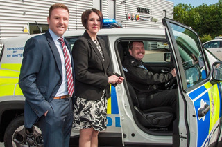 Jeep Renegade Goes on Police Duty in the UK
