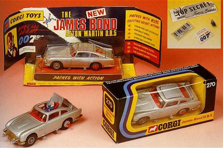Brilliant Mind Behind: The Original James Bond Toy Cars