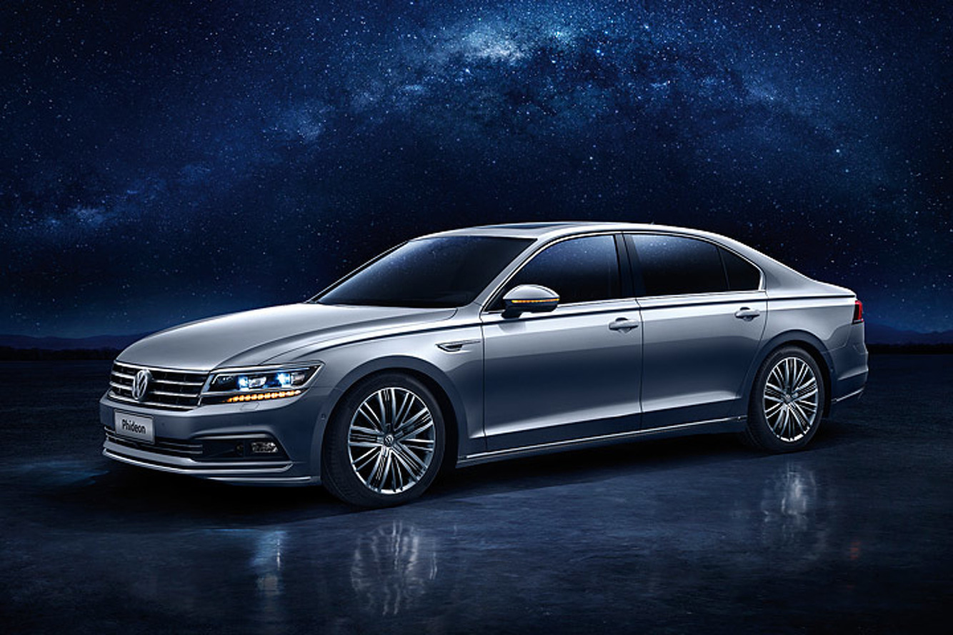 5 Things You Should Know About the 2017 Volkswagen Phideon