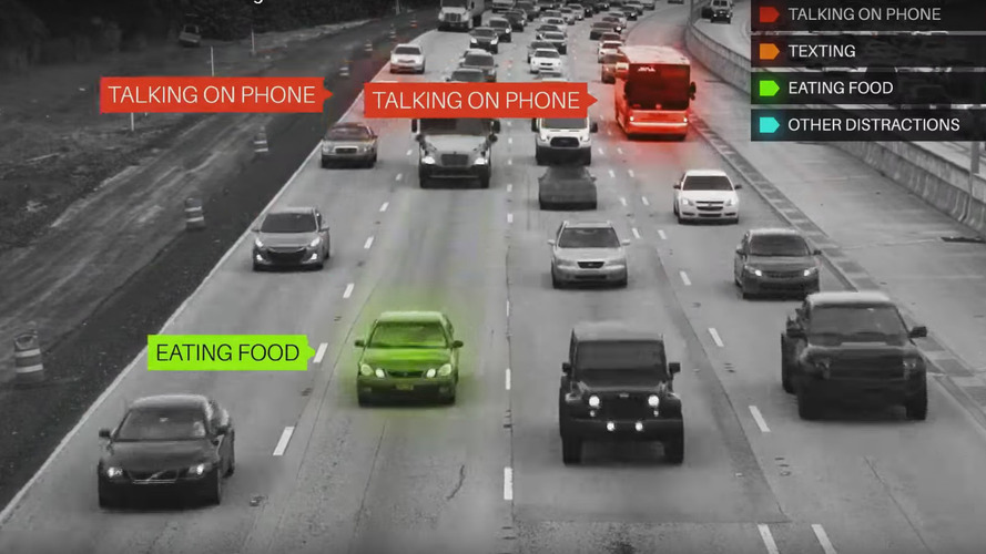 Firm records distracted drivers on I-95 in Florida
