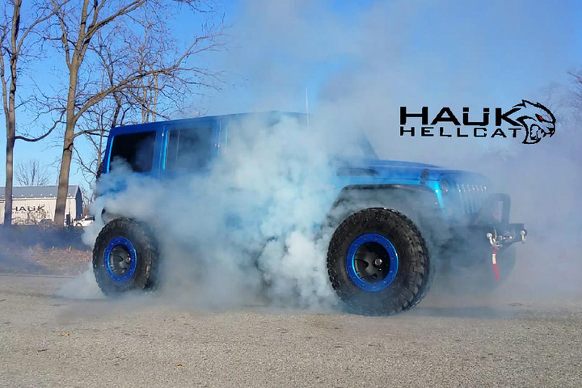 Meet the 707-HP Hauk Hellcat Jeep Wrangler