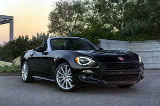 New 2017 Fiat 124 Spider is Italian for