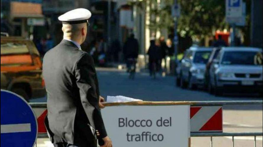 Blocco del traffico Domenica 31 gennaio a Roma e Modena
