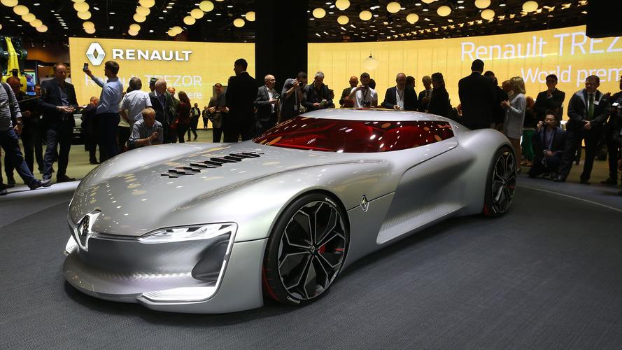 Renault Trezor Wins 2016 Concept Car Design Of The Year Award