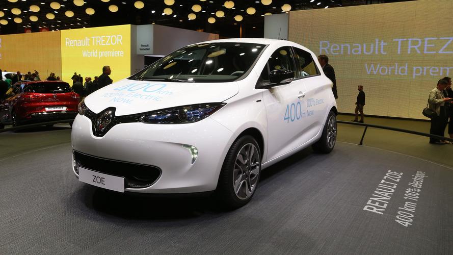 Renault Zoe daha güçlü versiyonla Cenevre'de olabilir
