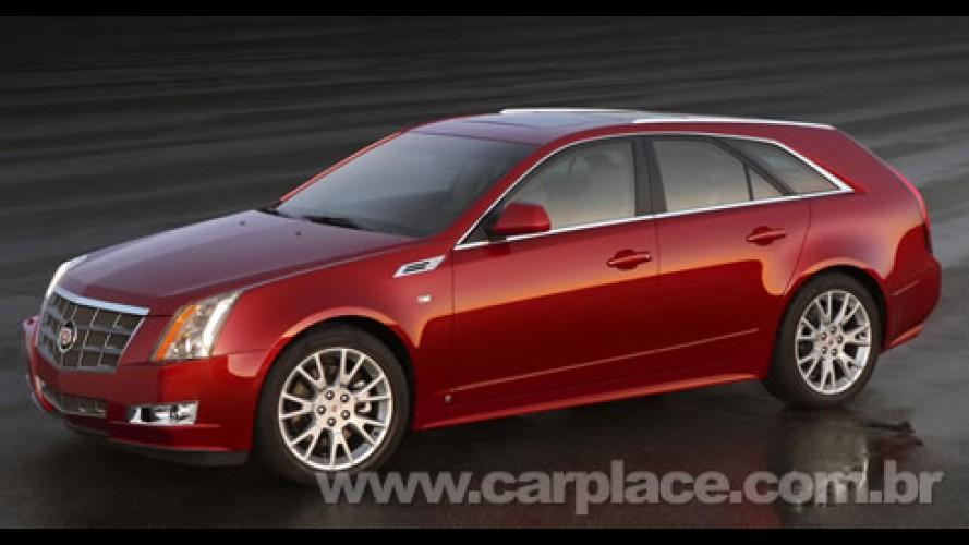 Salão de Detroit: Cadillac apresenta o seu inédito esportivo CTS Wagon 2010