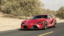 Toyota Supra Generations and FT-1