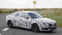 2012 Audi A4 facelift spy photo - 2.8.2011