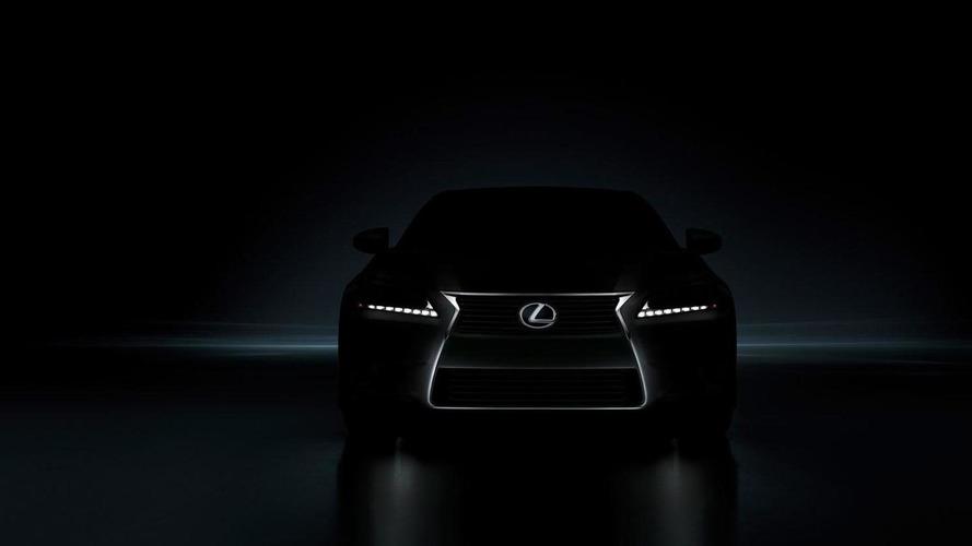 2012 Lexus GS teased