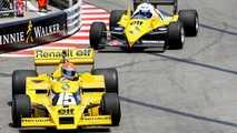 Alain Prost se reencontra com seu Renault de F1