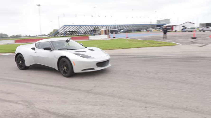 Lotus Evora Plus Tesla Model S Powertrain Equals Blue Lightning