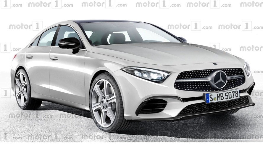 2018 mercedes cls rendering previews evolutionary design for Mercedes benz official site usa