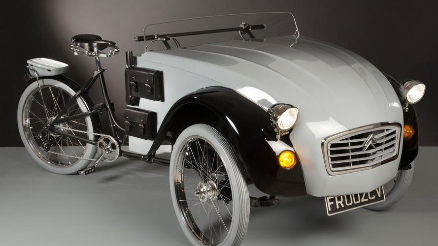 Voici la première Citroën 2 CV pour cyclistes !