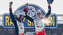 Winners Jari-Matti Latvala, Miikka Anttila, Toyota Yaris WRC, Toyota Racing