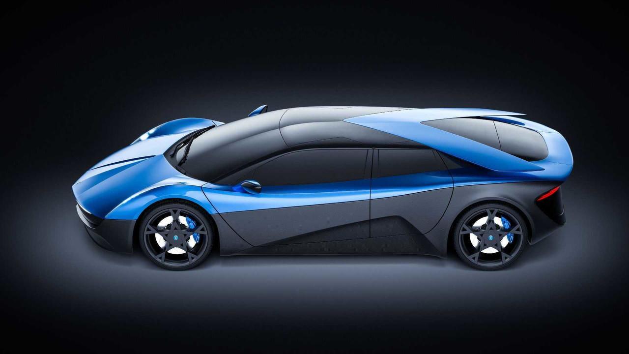 Elextra Electric Sedan