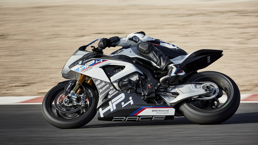 BMW HP4 Race Is A Limited Edition Carbon Fibre Fest [89 Photos]