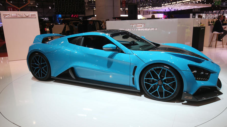 Zenvo TS1 GT has 1,163hp, costs £1 million... and is very blue