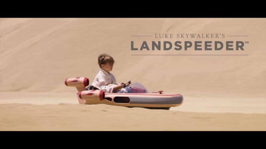 Lanspeeder de Star Wars: el juguete por el que querrías ser un niño