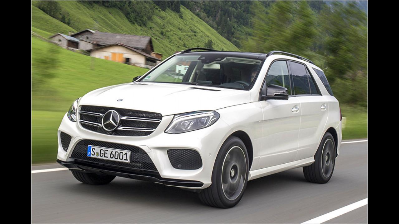 SUV: Mercedes GLE