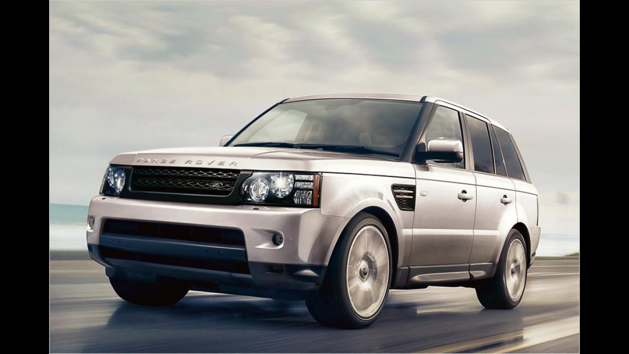 Platz 5: Range Rover Sport 2.7 TD