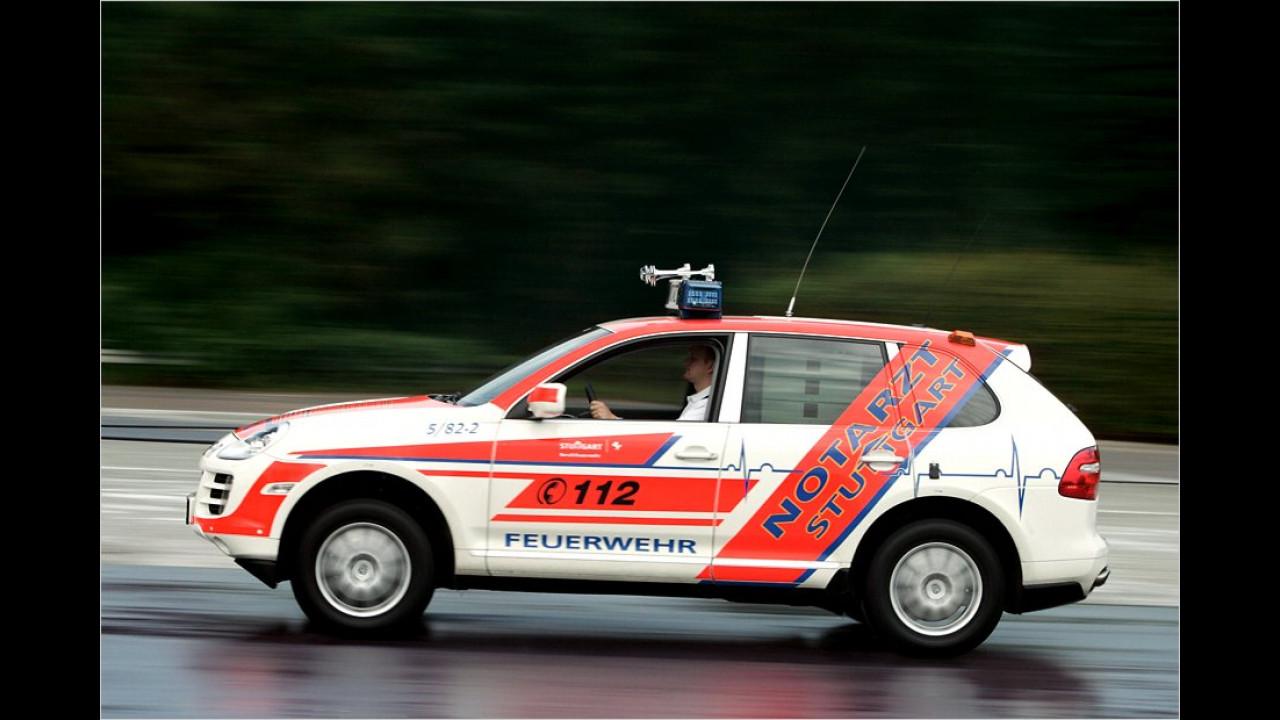 Porsche Cayenne Feuerwehr/Notarzt