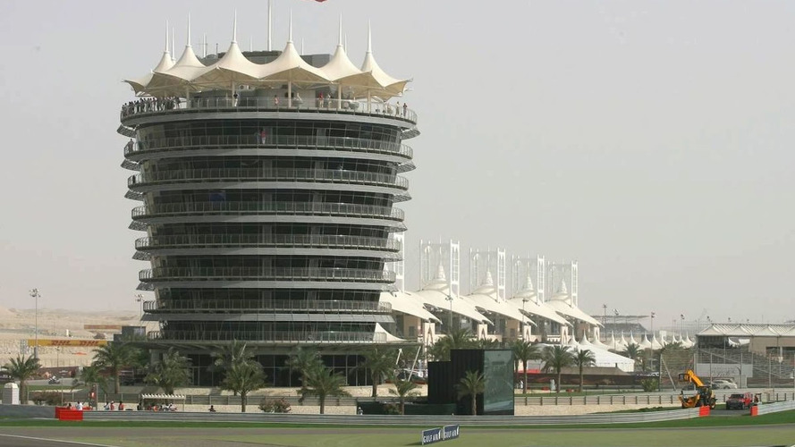 Drivers begin to arrive in sunny Bahrain