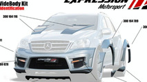 Mercedes ML 63 AMG WIDE BODY by Expression Motorsport