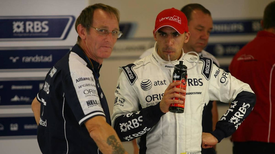 Maldonado quiet on 2011 Williams deal reports
