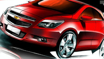 Chevrolet Agile official rendering
