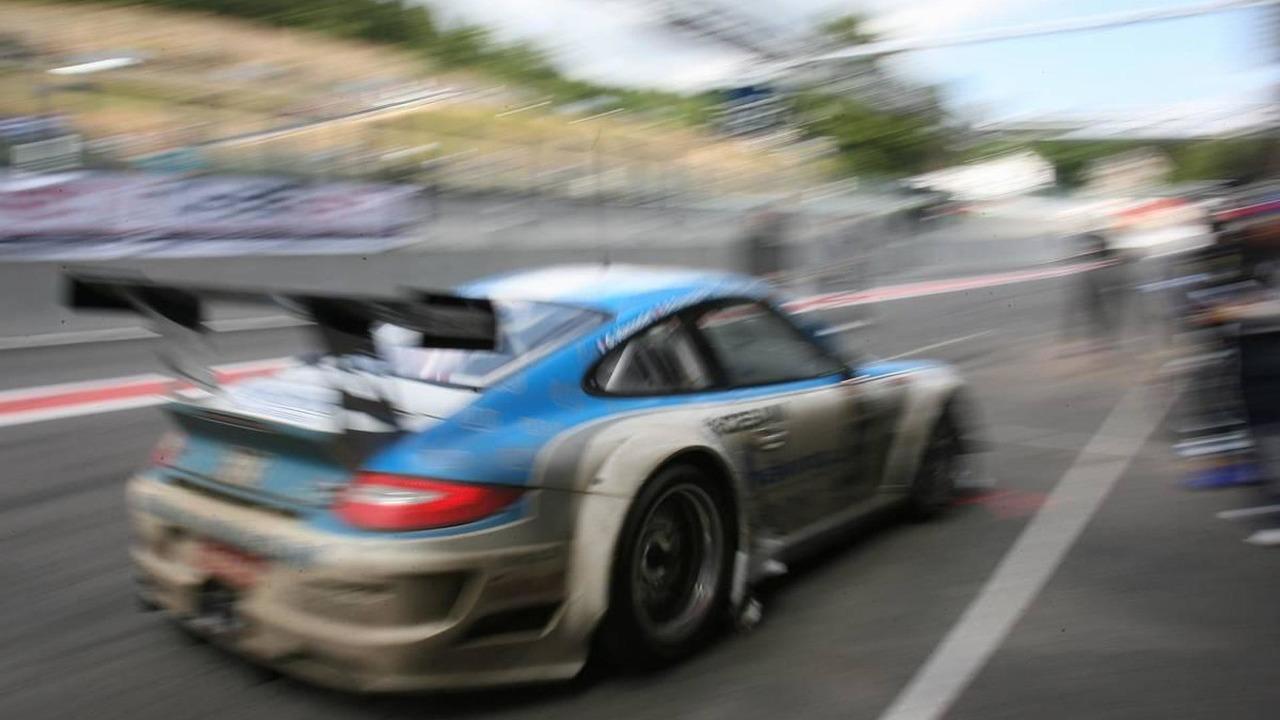 Muehlner Motorsport, Juergen Haring (GER), Dimitrios Konstantinou (GER), Arnaud Pyroles (FRA), Gilles Vannelet (FRA), Porsche 911 GT3 R - FIA GT - 24 hours of Spa, 31.07. - 01.08.2010 Spa, Belgium