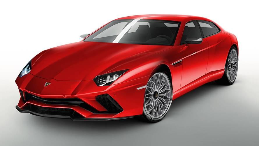 ¿Vuelve el Lamborghini Estoque? (actualizado con nuevas fotos)