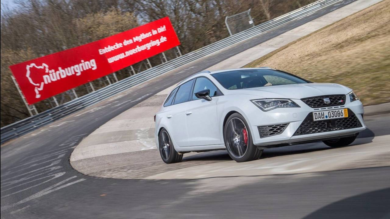 Break le plus rapide - SEAT Leon ST Cupra 280