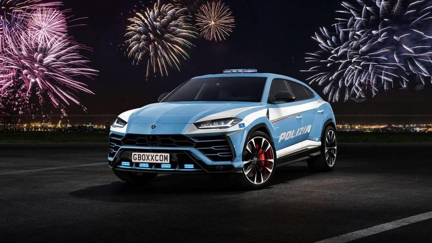 Los renders más alocados del Lamborghini Urus 2018