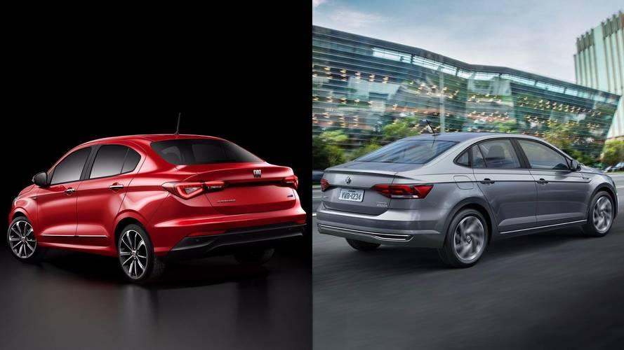 Contato Fiat Cronos x VW Virtus - O que esperar dos novos sedãs?