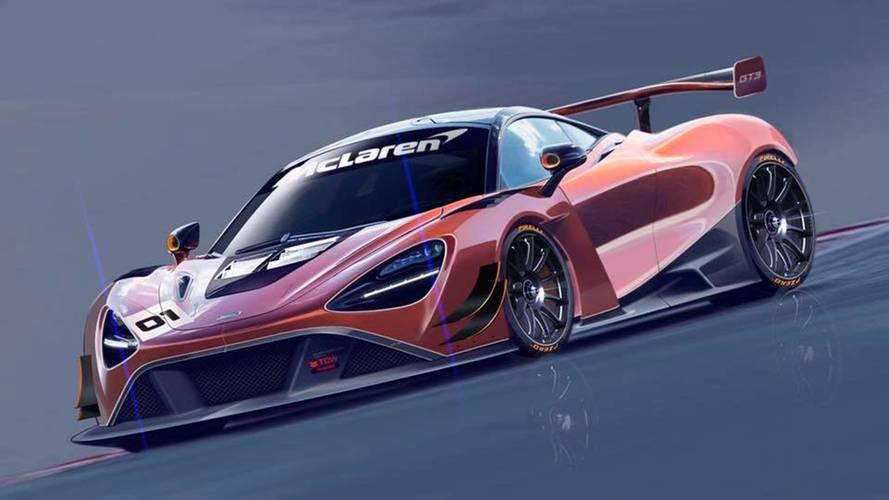 McLaren Prepares 720S For The Track With GT3-Spec Racer