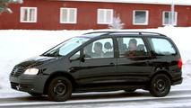 SPY PHOTOS: New Volkswagen Sharan