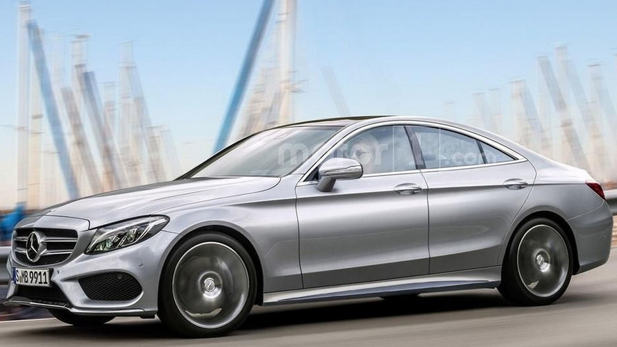 Rumored Mercedes CLC four-door coupe speculatively rendered
