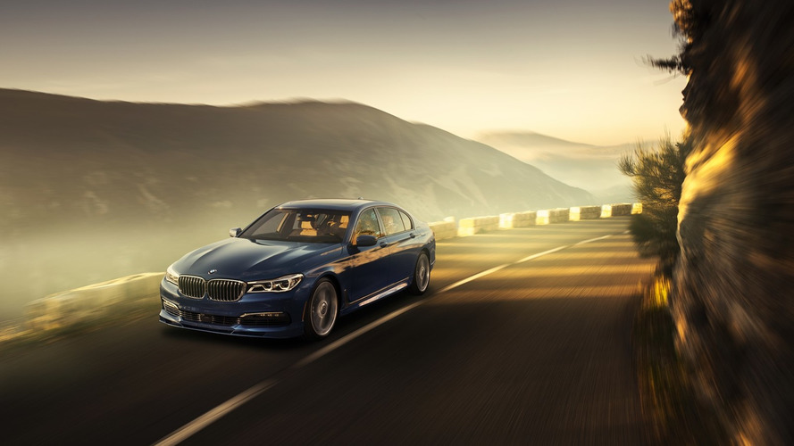 2017 BMW ALPINA B7 xDrive unveiled with 600 hp