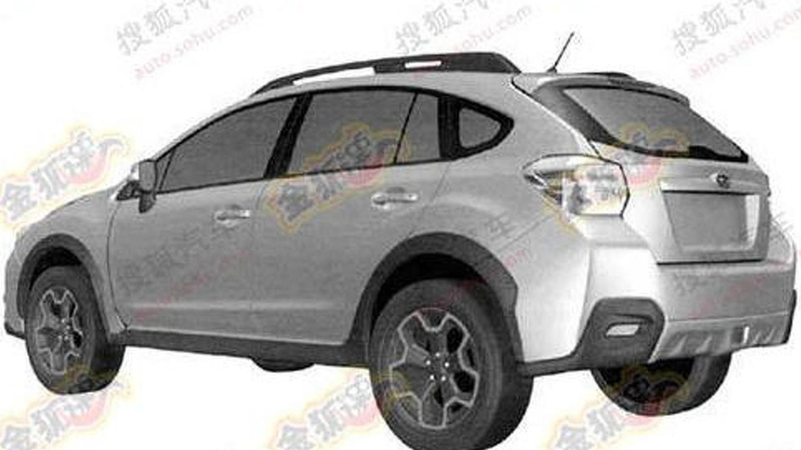 2012 Subaru Impreza XV revealed in patent filing