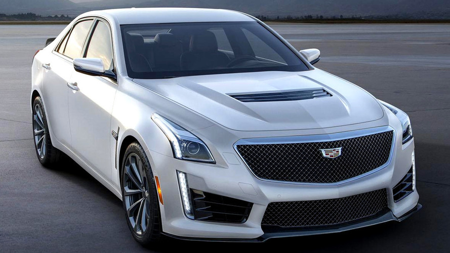 2016 Cadillac ATS-V & CTS-V Crystal White Frost Editions announced
