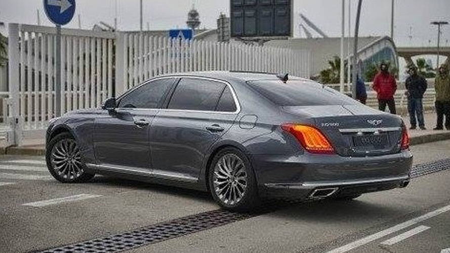 Genesis G90 photographed undisguised ready to tackle luxury segment