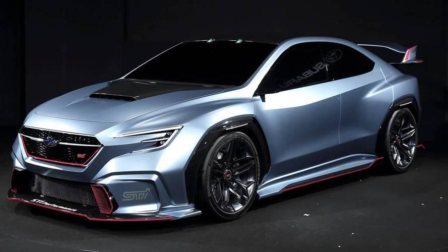Lehullt a lepel a Subaru Viziv Performance STI tanulmány végleges változatáról